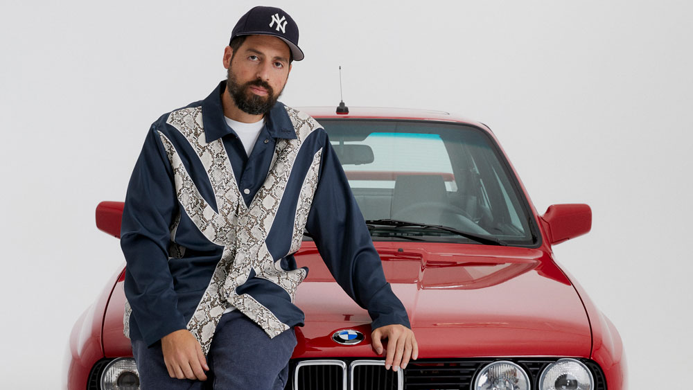 Kith founder Ronnie Fieg with his one-off BMW.