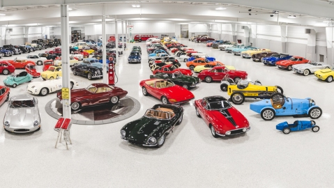 Cars from the Elkhart Collection auction presented by RM Sotheby's.