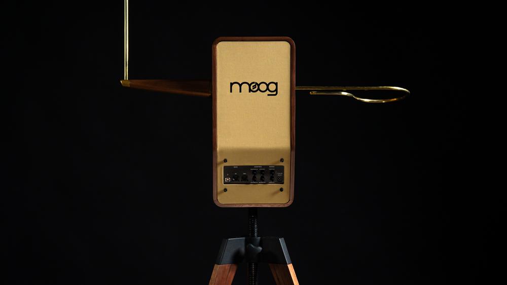 The Moog Claravox Centennial musical instrument.