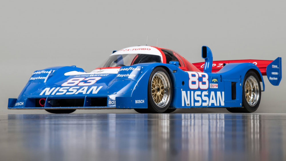 Nissan's 1990 NPT-90 race car, chassis No. 90-01.
