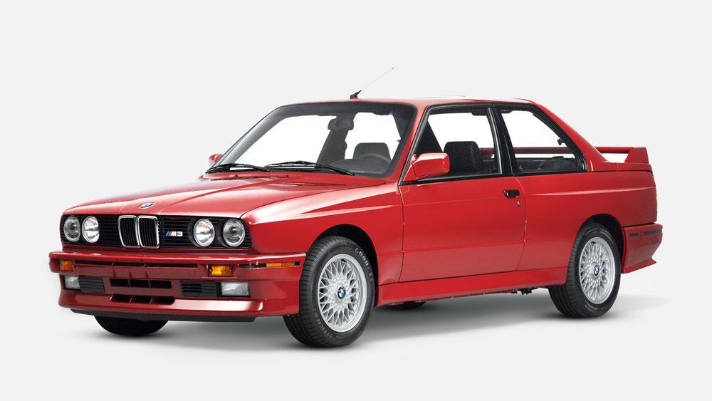 Ronnie Fieg's restored 1989 BMW E30 M3.