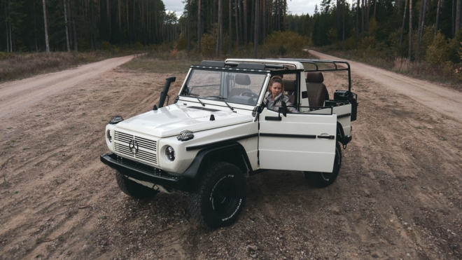 Expedition Motor Company restores the Mercedes-Benz 250GD Wolf.