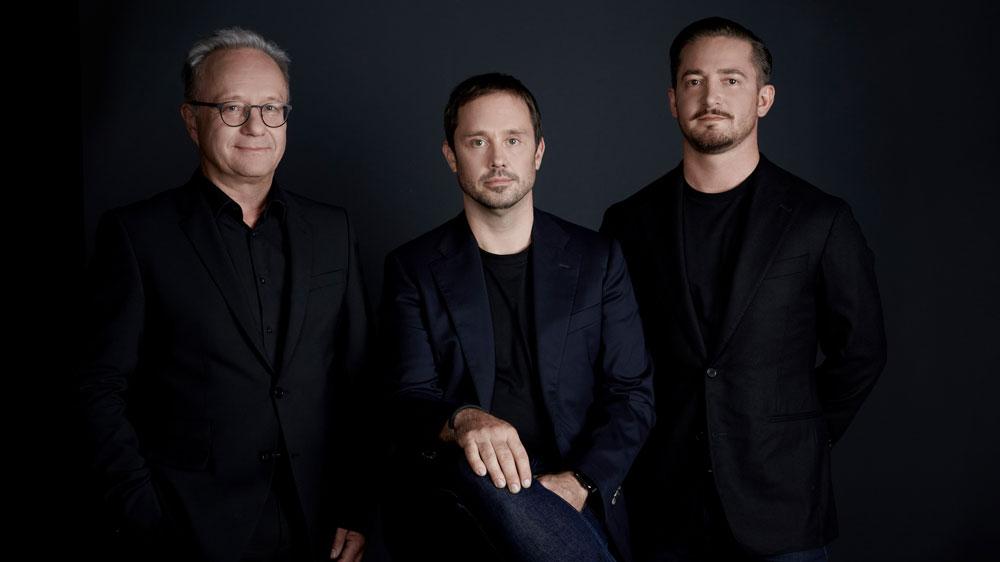 From left: Piëch Automotive's Klaus Schmidt, Toni Piëch and Rea Stark Rajcic.