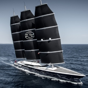 Oceanco's Black Pearl Has Many Sustainable Features to Make it the Yacht of the Future