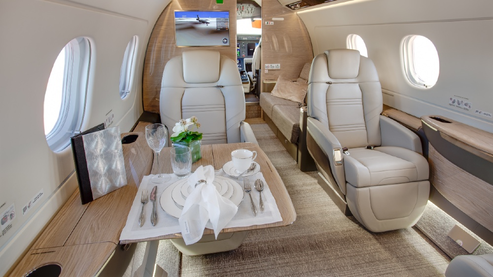 Interiors and layouts like this Embraer Praetor 500 are critical to how the jet is used