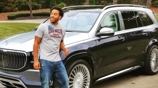 Ludacris and the 2021 Mercedes Maybach GLS600 SUV