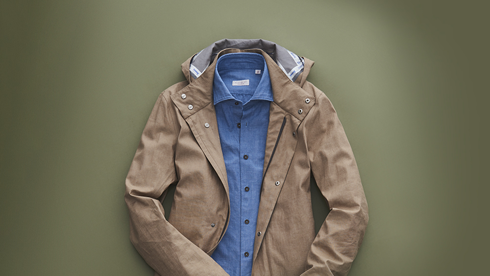 A smart-casual denim shirt can be styled any number of ways.