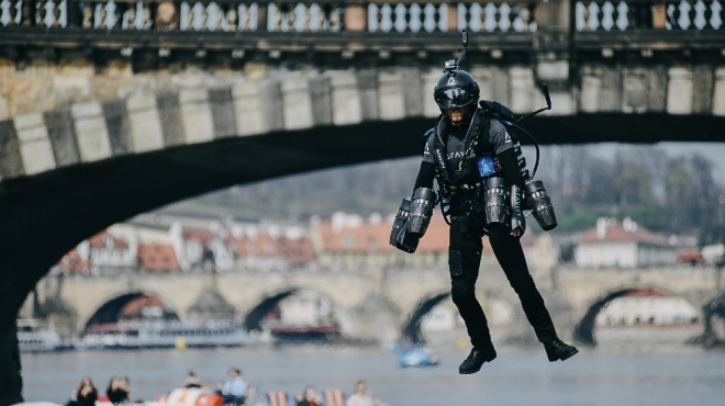 Gravity Jetpack Flight Suit Makes Flight Accessible to Anyone