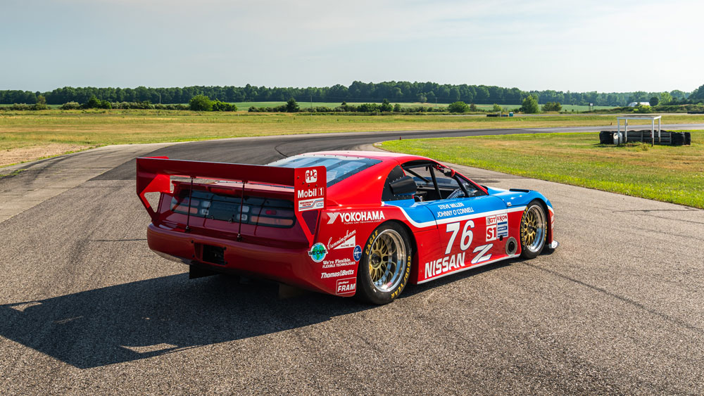 Nissan's 1989 300ZX Turbo IMSA GTO.