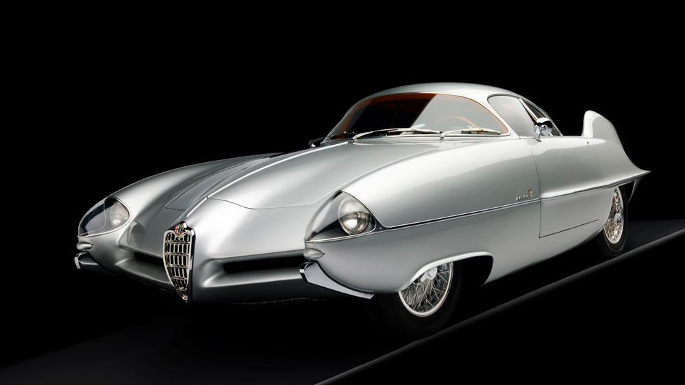 The 1955 Alfa Romeo B.A.T 9.