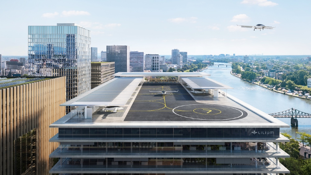German eVTOL aircraft manufacturer Lilium is working with government authorities on a regional urban air mobility network