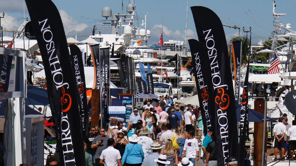 The Fort Lauderdale International Boat Show Opens Today with Covid-19 Restrictions in Place