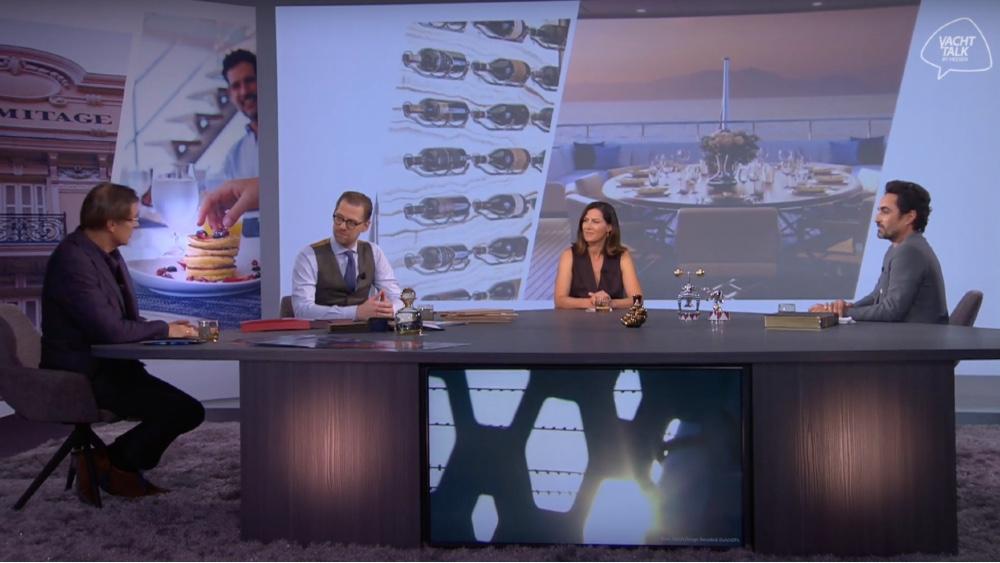 Heesen YachtTalk Livestream Event about superyacht design