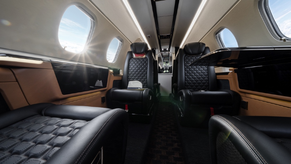 Personal versus corporate use could determine the style and layout of this Embraer Praetor 300E