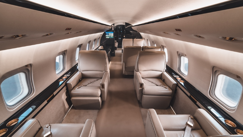 Private Jets Offer Built-in Social Distancing