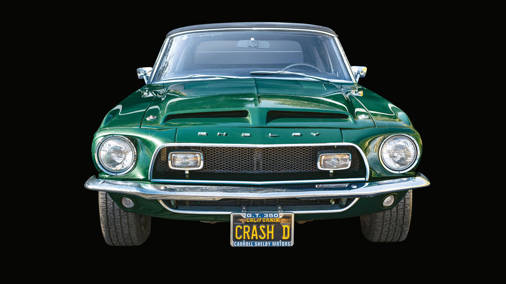 Kevin Costner's 1968 Shelby Mustang GT350 Convertible.