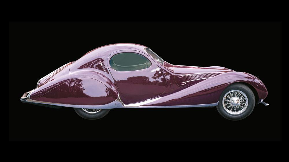 Peter Mullin's 1938 Delahaye 165.