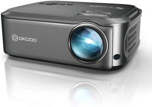 OKCOO Native 1080P Video Projector
