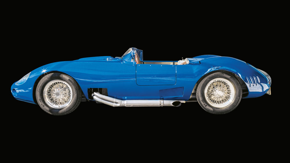 Martin Logé's Maserati 450S re-creation.