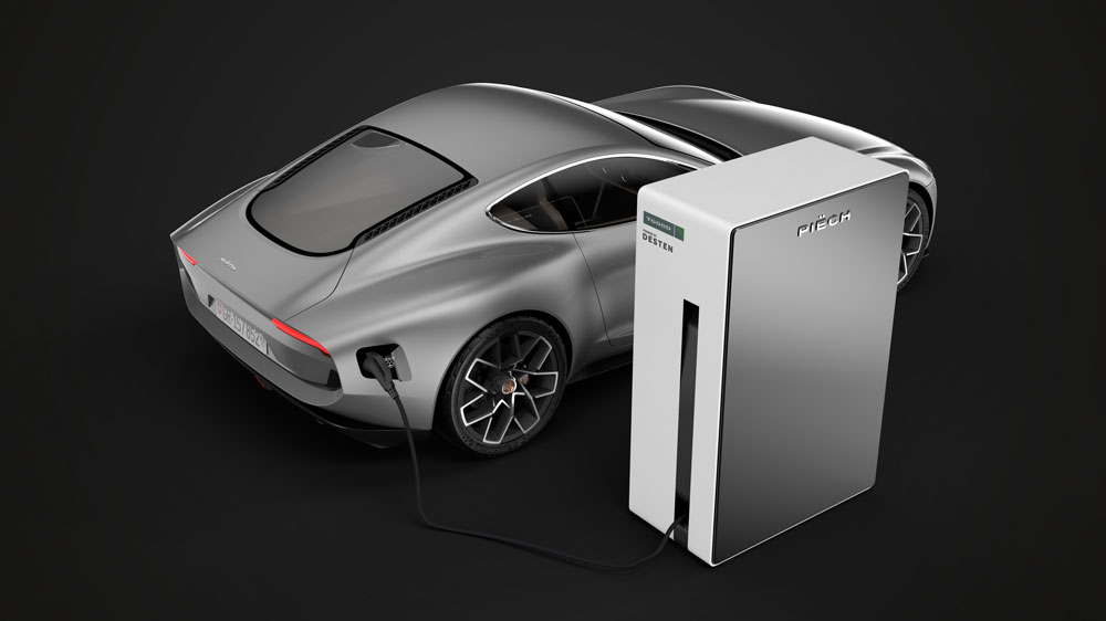 The Mark Zero electric car from Piëch Automotive.