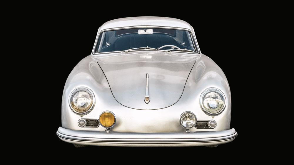 Matt Jacobsen's 1955 Porsche 356 Pre-A Coupe, as seen in the book A Man & His Car.