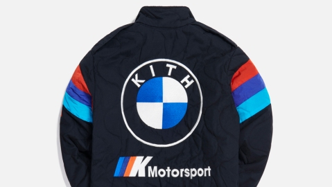 One of the 96 styles in the Kith for BMW 2020 Collection.