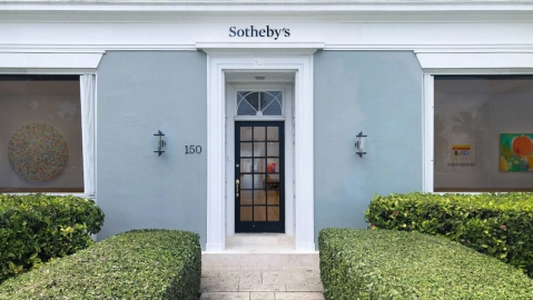 Sotheby's Palm Beach gallery