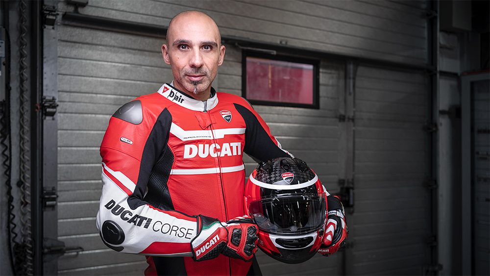 Ducati Test Rider Alessandro Valia on How the World's Greatest Motorcycles Get Made