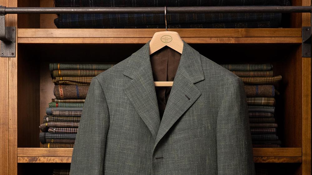A suit from Liverano & Liverano
