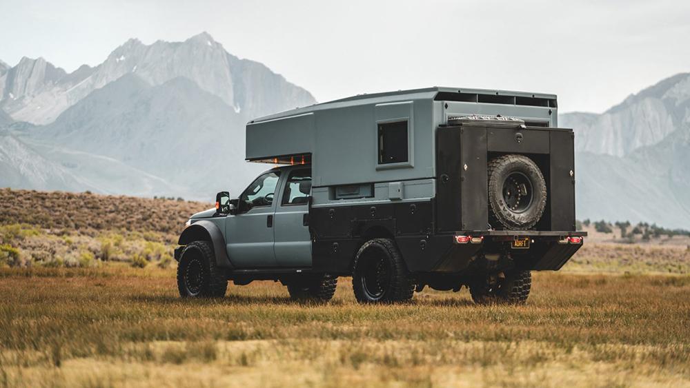 Custom Ford F550 Camper
