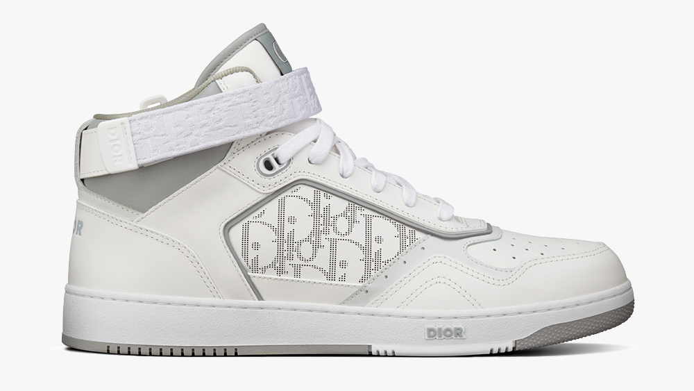 The B27 high-top in white.