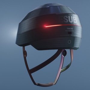 ESUB Tracks Smart Helmet
