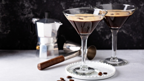 espresso martini vodka coffee cocktail