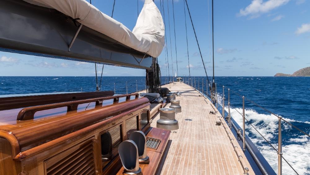 Rainbow is a modern J Class sailing superyacht