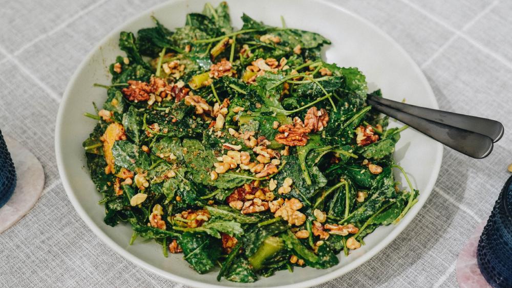 Culinistas green salad