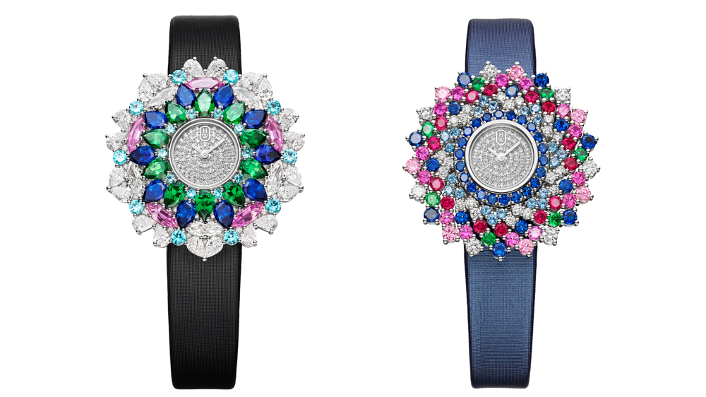 Harry Winston High-Jewelry Kaleidoscope Watches