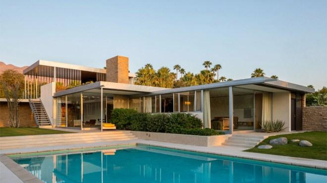 Kaufmann Desert House by Richard Neutra for Sale for $25 Million