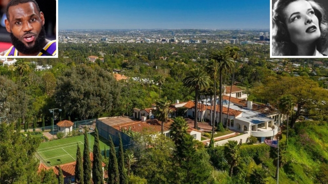LeBron James Beverly Hills Estate