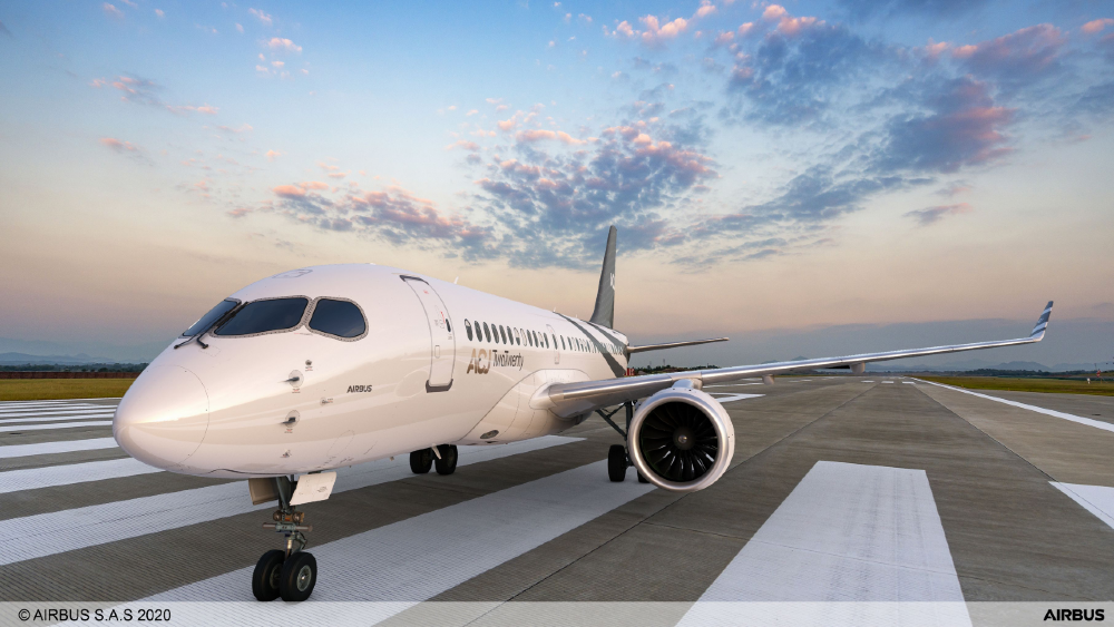 This New Business Jet Is So Big It Has a King-Size Bed and a Full Shower