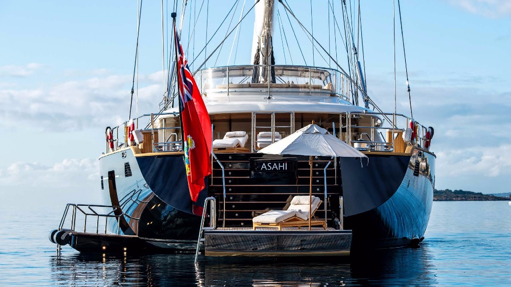 Superyacht Sailing Vessel Asahi Part of Increased Brokerage Trend