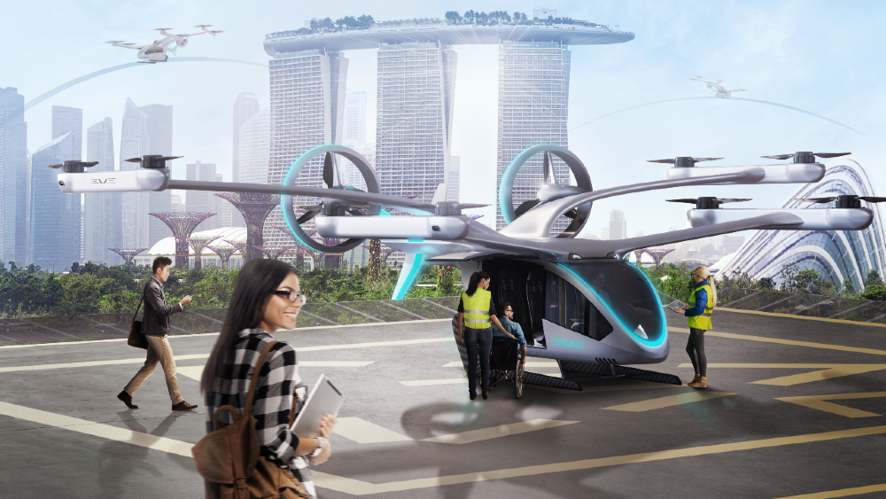 EmbraerX launches Eve to build up Urban Air Mobility Network for EVTOL aircraft