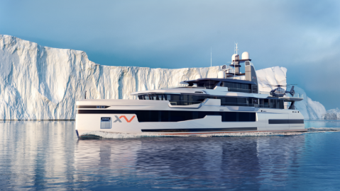 Heesen XVenture Explorer Yacht in the Arctic