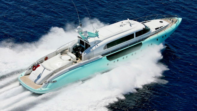 Moon Goddess is a 114-foot superyacht that was Designed as a Tender