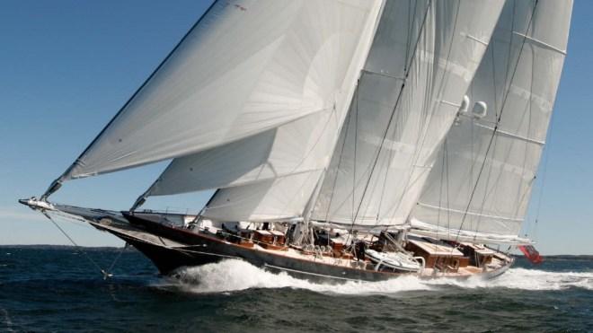 Meteor Superyacht Sailing Vessel Part of Hot Brokerage Sales