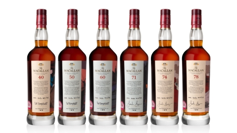 Sotheby's Macallan Red Collection whisky