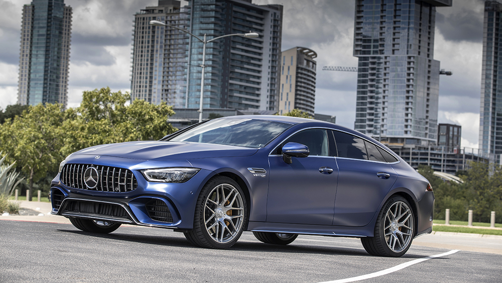 The Mercedes-AMG GT 63 S