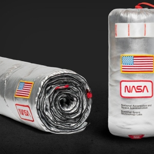 Rumpl Original Puffy NASA blanket