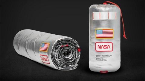 Rumpl Original Puffy NASA blanket