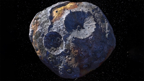 Psyche 16 Asteroid
