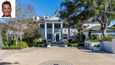 Rob Lowe Montecito Estate